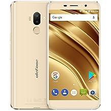 Ulefone S8 Pro - 5,3 pulgadas Pantalla HD 0.5mm Bezel Android 7.0 4G smartphone, cámara triple (5MP + 5MP + 13MP), Quad Core 2GB RAM + 16GB ROM, GPS, marco de metal - Oro