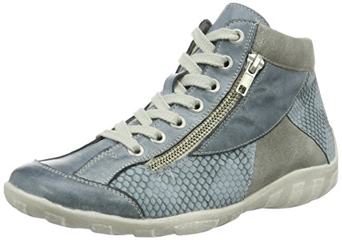 Remonte R3462, Sneakers Hautes Femme, 36 EU Bleu (Royal/denim/shark / 14)