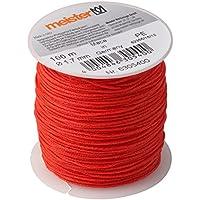 Meister cuerda 100m x diámetro 1,7mm, Rojo, PE, 6305400