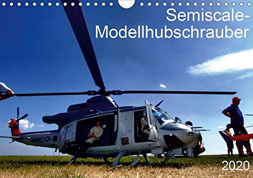 Semiscale-Modellhubschrauber (Wandkalender 2020 DIN A4 quer): Faszination Fliegen - Modellbau in Perfektion (Monatskalender, 14 Seiten ) (CALVENDO Technologie)