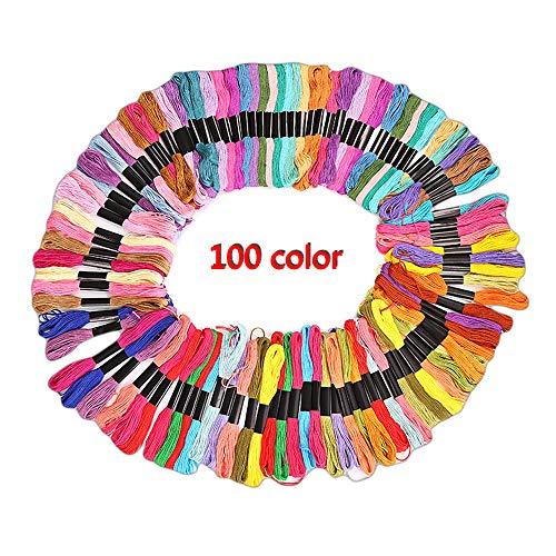 Sticktwist CrossStitch Gewinde–Freundschaft Armbänder floss- Crafts floss-rainbow Farbe Stickgarn ökologischen Baumwolle 100
