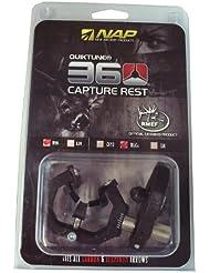 New Archery Productos QuickTune Capture 360 ??Negro Rest Mano Derecha