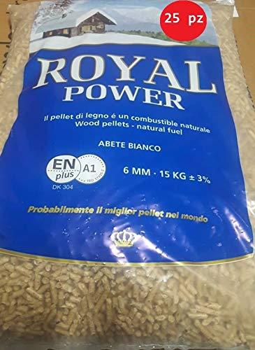 Pellet di abete bianco austriaco a1 enplus bancale da 25 sacchi da 15 kg consegna rapida gls