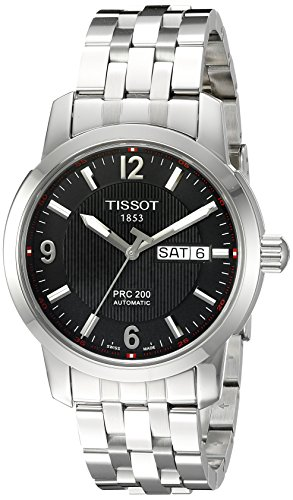 Tissot Herren T0144301105700 PRC 200 Black Zifferblatt
