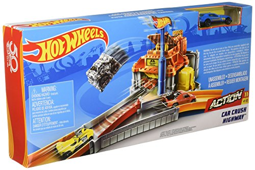 Circuit de voitures Hot Wheels : Piste Broyeur
