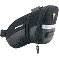 Topeak Aero Wedge Pack (QuickClick) - Bolsa para sillĂn de bicicletas, color negro
