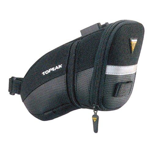 Topeak Satteltasche Mit Fixer F25 Aero Wedge Pack, Black, 20 x 10.5 x 12 cm, 0.98 Liter