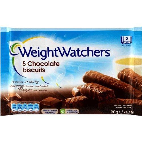 Weight Watchers Schokolade Kekse (5 Pro Packung - 90G)