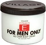 Village 9506-17 For Men Only Body Cream mit Vitamin E, 500 ml