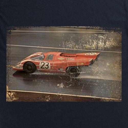 917 1970 Classic Racing Car T-Shirt, Damen Schwarz