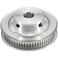 TOOGOO (R) GT2 Zahnriemenscheibe Aluminium - 8mm Bohrung - 60 Zaehne - fuer RepRap 3D Drucker