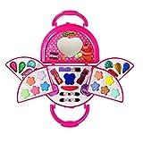 Kinderschminke Schminkkoffer Koffer Schminkset Kinder Schminkkoffer Mädchen Schönheit Spielzeug Geschenk Mädchen Spielzeug Geburtstag Geschenk