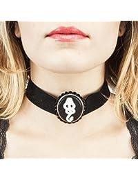 Collar–Harry Potter–Death Eater Gargantilla Nuevos juguetes con licencia fj35i1hpt