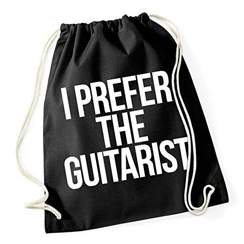 I Prefer The Guitarist Sac De Gym Noir Certified Freak
