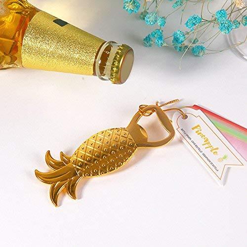 LEXPON Flaschenoeffner Ananas Form Legierung Werkzeug Hochzeit Geburtstag Babyparty Favor Geschenk Souvenirs