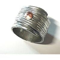 Con testo personalizzato, anello