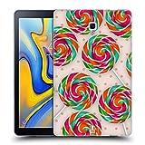 Head Case Designs Pfefferminzbonbon Spirale Lutscher Soft Gel Hülle für Samsung Galaxy Tab A 10.5 (2018)