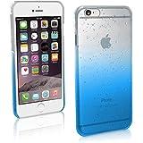 igadgitz u32674.7'Housse Bleu, Transparent Housse pour téléphones portables–Housses pour téléphone mobile (Housse, Apple, iPhone 6, 11,9cm (4.7), bleu, transparent)
