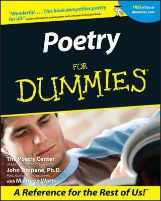 [( Poetry for Dummies [ POETRY FOR DUMMIES BY Poetry Center ( Author ) May-15-2001 By Poetry Center ( Author ) Paperback May - 2001)] Paperback