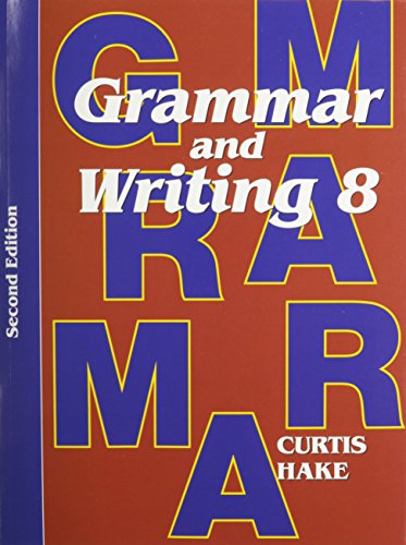 Saxon Grammar & Writing 2nd Edition Grade 8 Complete Homeschool Kit