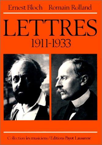 Lettres 1911-1933 par Collectif