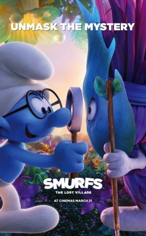 smurfs-the-lost-village-us-imported-movie-wall-poster-print-30cm-x-43cm-brand-new