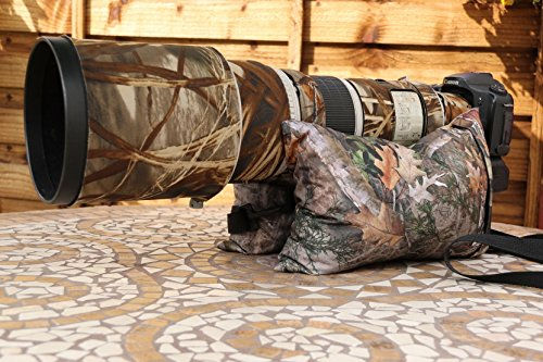 camera-bean-bag-filled-large-double-with-nylon-liners-weight-900-grams-true-timber-mixed-pine-or-kan