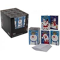 Mini Carte di Natale con le buste bianche bambino bambini Greet novità Cancelleria Regalo - Greet Scheda