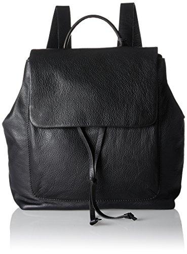 Clarks Damen Totterdown Bay Rucksackhandtasche, Schwarz (Black Leather), 15x30x42 cm (Bay Schnitt)