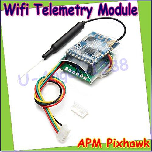 Generic Wholesale 1pcs Newest APM Pixhawk Wireless Wifi Module Replacement of 3DR Radio Telemetry Drop Free shipping