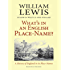 What's in an English Place-name?: A History of England in Its Place-names (History of English Names Book 2)