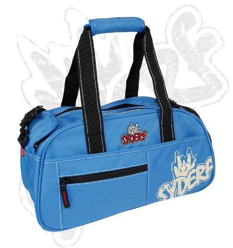 Syderf Sporttasche mit Logo Druck Hellblau (7003-19) Hellblau