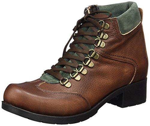 Andrea Conti Damen 0024527 Stiefel, Braun (Dunkelbraun/Kombiniert), 40 EU