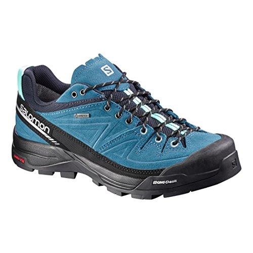 Salomon L37927100, Scarpe da Escursionismo Donna Blu