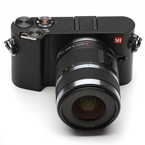 YI-M1-4K-Mirrorless-Digitale-Camera-con-Intercambiale-Lenti-12-40mm-F35-56-Lens-425mm-F18-20-Megapixel-Storm-nero