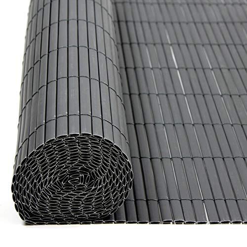ESTEXO PVC Sichtschutzmatte Sichtschutzzaun Sichtschutz für Zaun Balkon Windschutz