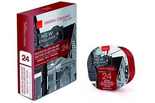 Mr & Mrs Sissi George Capsula di fragranza Difffuser capsula Scelta varie fragranze Nuovo - White Tea of Cina 28 Emotions of New Inghilterra 24