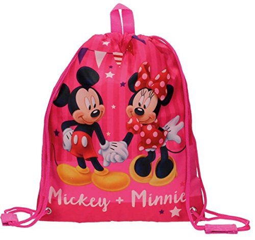 Disney Mickey & Minnie Party Mochila Infantil, 0.92 Litros, Color Rosa