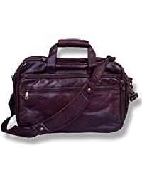 Apoorva Geniune Leather Bag Messenger Bag School Bag Official Bag  brown Briefcase Leather Cross-body Bag For...