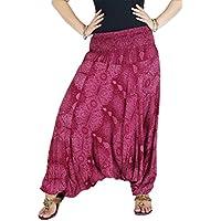 AuthenticAsia–Acqua goccia Collection- Super Soft Loose JINNIE Harem pantaloni e tuta