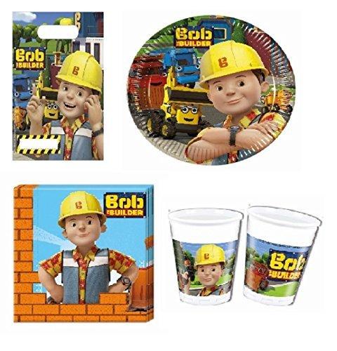 Bob el Constructor Juego de fiesta 42-teilig