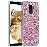 OKZone Galaxy A6 Plus 2018 Case, Luxury Bling Glitter