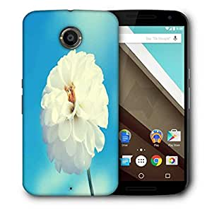 Snoogg Beautiful Flower Images Designer Protective Phone Back Case Cover For Motorola Nexus 6