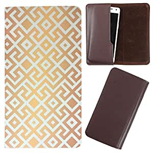 DooDa - For Gionee Marathon M3 PU Leather Designer Fashionable Fancy Case Cover Pouch With Smooth Inner Velvet
