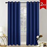 Best Home Fashion Thermal Blackouts - Eyelet Thermal Blackout Curtains Panels - PONYDANCE Top Review