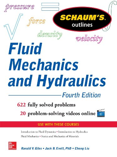 Schaum\'s Outline of Fluid Mechanics and Hydraulics (Schaum\'s Outlines)