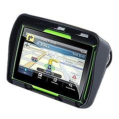 Idea Regalo - TOOGOO Aggiornato 256M RAM 8GB 4.3 Pollici Moto Navigatore GPS Impermeabile del Motociclo di Bluetooth GPS Auto Navigation Mappa dell'Europa