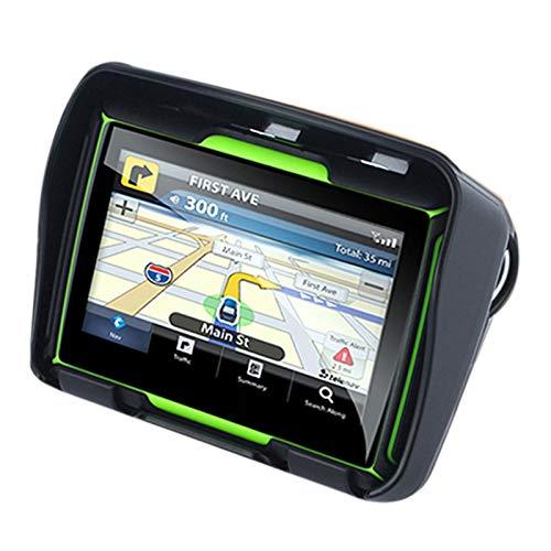 TOOGOO Actualizado 256M Ram 8Gb Flash 4.3 Pulgadas Navegador GPS De Moto Impermeable Bluetooth GPS De Motocicleta Navegacion En Coche Mapa De Europa