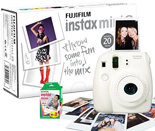 Fujifilm INSTAX MINI8 - Fotocamera istantanea, con 20 pellicole mini