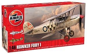 Airfix - Kit de modelismo, avión Hawker Fury, 1:48 (Hornby A04103)